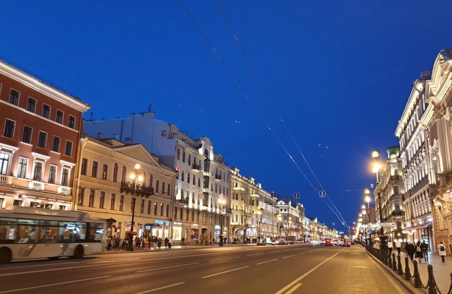 Avenue Nevsky St Petersbourg